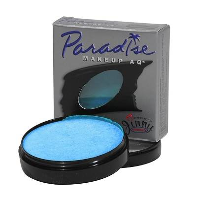 Cake aqua colors Paradise brillant bb light blue 40g  MEHRON