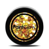 Paillettes  Holographique N°06 UV 24 karat 13ml PAINTGLOW
