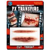 Tatouage 3D fx cut throat TINSLEY