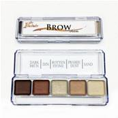 Palette  sourcils / brow  x 5 couleurs PPI