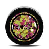 Paillettes  Holographique N°02 UV rainbow rave 13ml PAINTGLOW