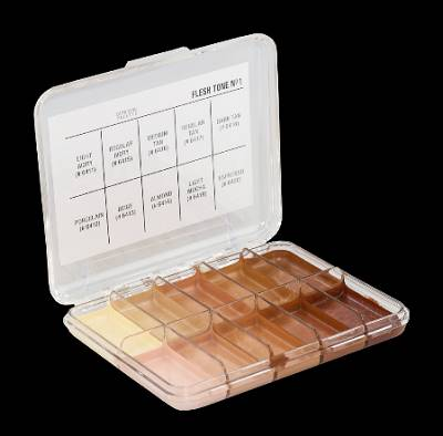 Palette mini flesh tone 1 x10 couleurs JORDANE COSMETICS