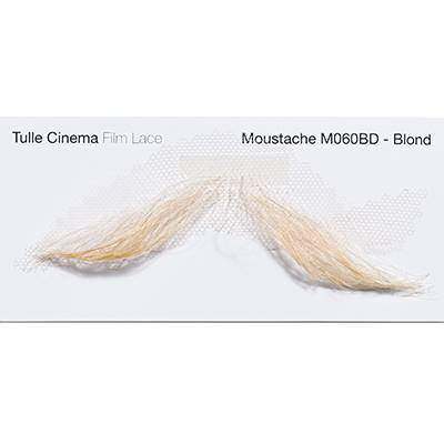 Moustache M060 blond NUMERIC PROOF