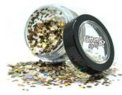 Paillettes chunky holographique golden girl PAINTGLOW