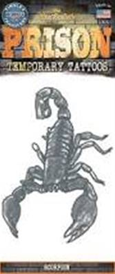 Tatouage prison scorpion TINSLEY