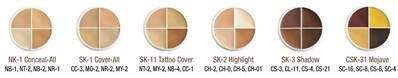 Kit HD 4 couleurs SK10 cover all whell 14g  BEN NYE