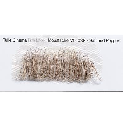 Moustache M040 salt & pepper NUMERIC PROOF