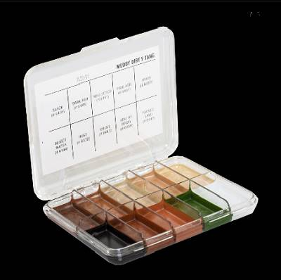 Palette mini muddy dirty tang x10 couleurs JORDANE COSMETICS
