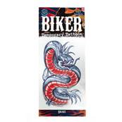 Tatouage biker snake TINSLEY