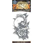 Tatouage prison skull and roses  TINSLEY