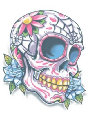 Tatouage DOD114 day of the dead calaveras TINSLEY