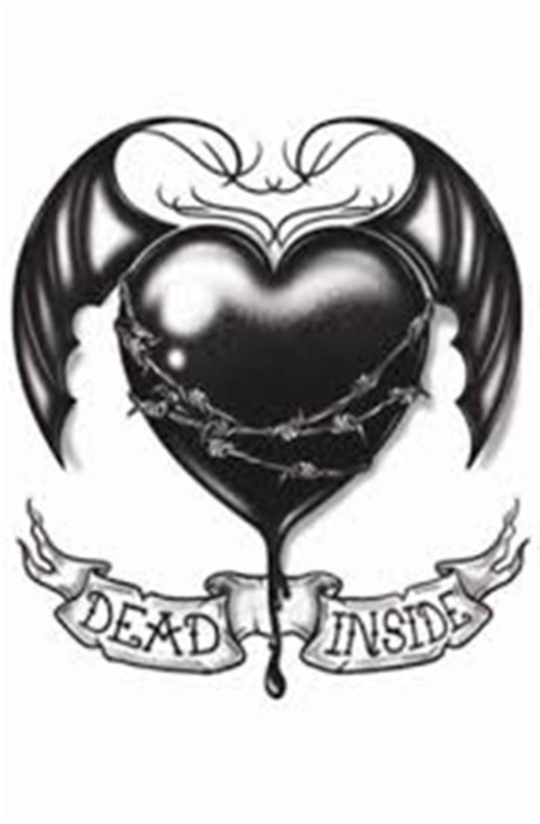 Tatouage Gothic Dead Inside Tinsley