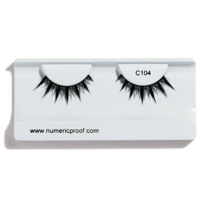 Faux cils  C104 NUMERIC PROOF